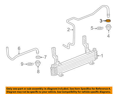 GM OEM Transmission Oil Cooler-Outlet pipe cap 15052228