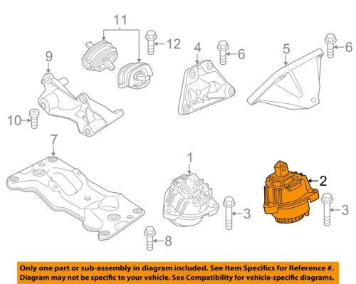 BMW OEM 12-16 528i-Engine Torque Strut Mount 22117935149   eBayeBay