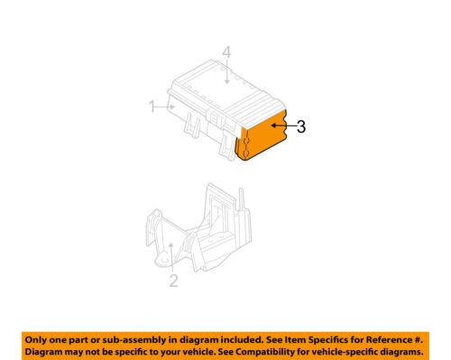 CHRYSLER OEM Electrical-Module RL727079AF