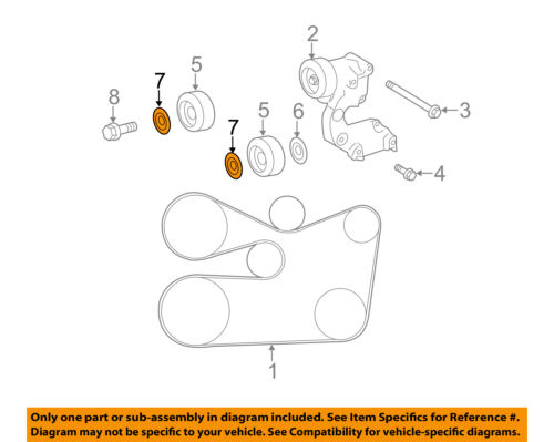 Genuine Toyota Idler Pulley Cover Plate 16659-AD010