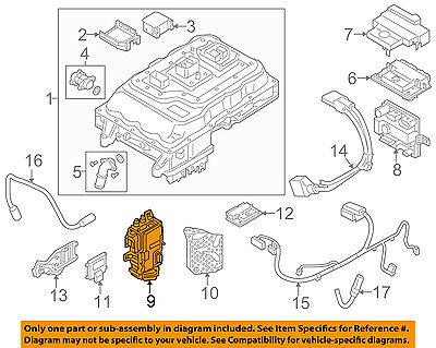 BMW OEM 14-17 i3 Electrical-Control Module 12328662295