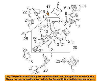 GM OEM-Ignition Switch 22887691
