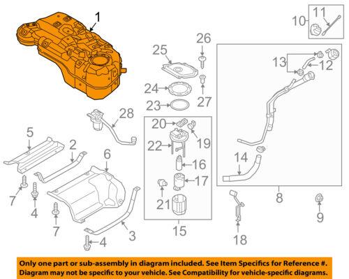 1997-2000 Kia Sportage Fuel Tank Filler Hose-Joint 4 Door Only OEM 0K01G-42241