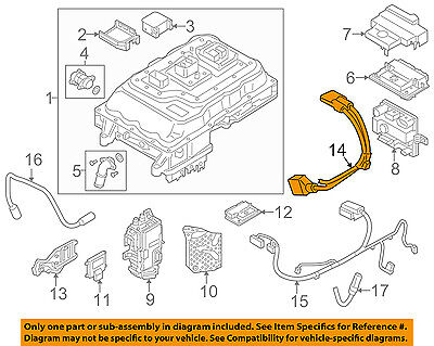 BMW OEM 14-17 i3 Electrical-Cable 12518632687