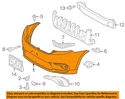 TOYOTA OEM 11-13 Highlander-Bumper Cover 521190E914