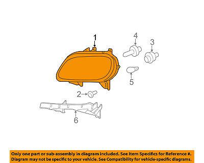 Chevrolet GM OEM 06-11 HHR-Headlight 15827441