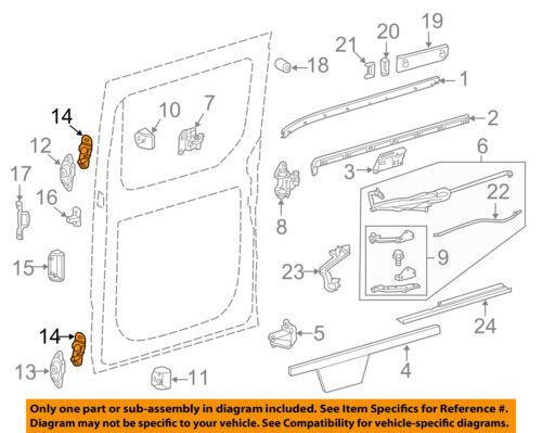 #14 on diagram only-genuine oe factory original item