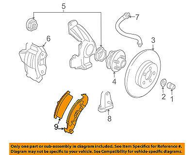 GM OEM Brake-Front Pads 19152705