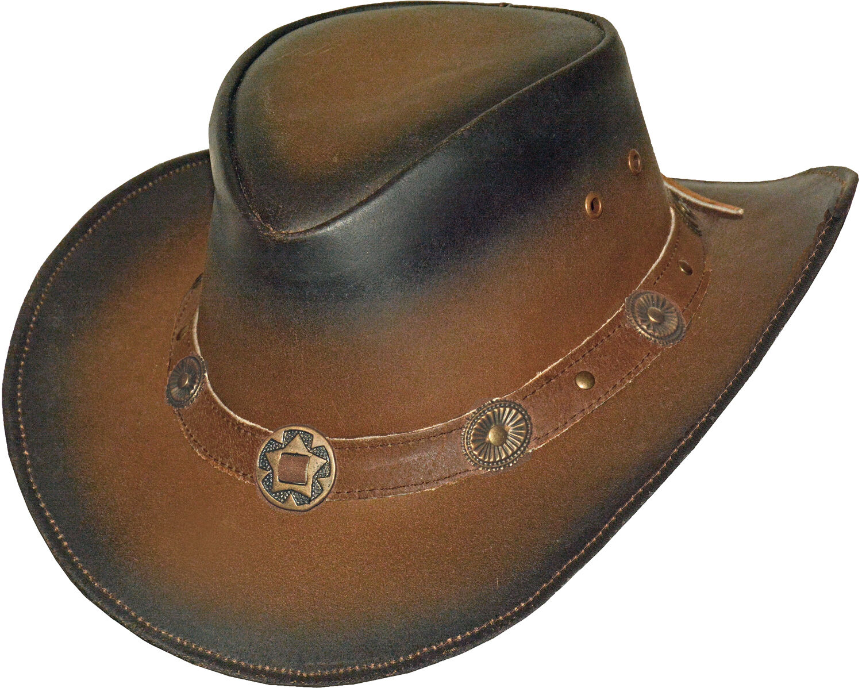 Lederhut TEXANER Westernhut Cowboyhut Sonnenschutz Texas Hut Reiten Lederhüte