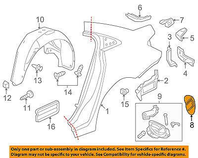 Usado, Chevrolet GM OEM 11-15 Cruze Fuel Door-Gas Cap Hatch 95916517 comprar usado  Enviando para Brazil