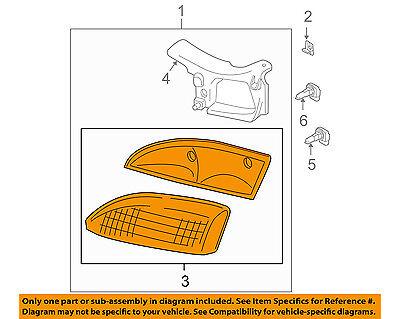 Chevrolet GM OEM 95-99 Cavalier-Headlight Head Light Headlamp 16518380