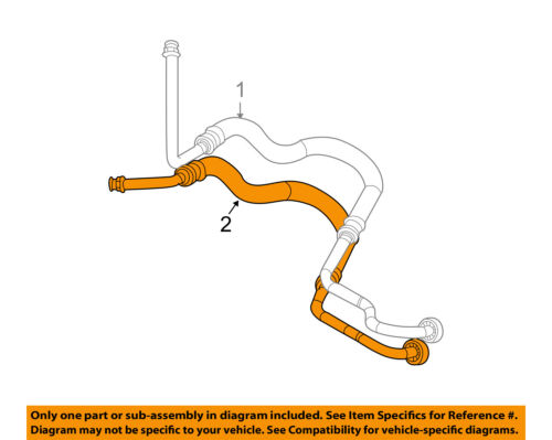 Details About Saturn GM OEM 04 07 Vue 3 5L V6 Transmission Oil Cooler Line 19300853