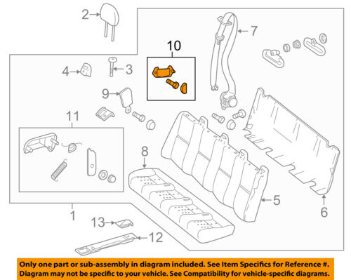 Details about Mercedes MERCEDES-BENZ OEM Sprinter 2500 Rear Seat-Mount  Bracket 0009500114
