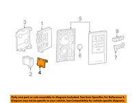OEM 15-19 CHEVROLET CORVETTE SMART KEY PROXIMITY KEYLESS REMOTE FOB 23465955