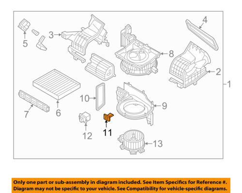 HYUNDAI OEM 15-17 Sonata Blower Motor-Resistor 97128C2000