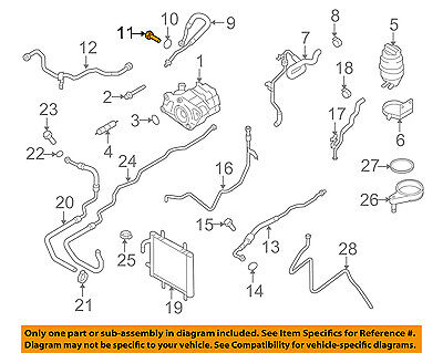 AUDI OEM 08-12 R8 Pump Hoses-Steering-Pressure Hose Bolt WHT000507