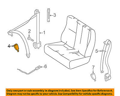 Mercedes Benz Seat Belts - Mercedes MERCEDES-BENZ OEM Front Seat Belt-Outer Buckle Left 90686003699051
