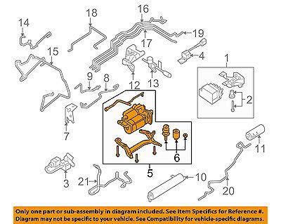 PORSCHE OEM 09-10 Cayenne Ride Control Shock-Rear Air Compressor 95535890105