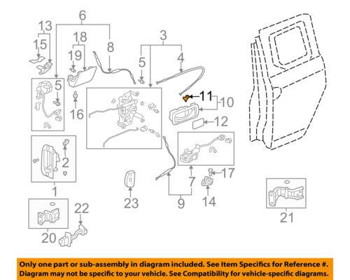 Car & Truck Interior Parts Car & Truck Interior Door Handles HONDA ...
