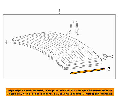 AUDI OEM 07-15 Q7-Lift Gate Glass Packing 8A5845515