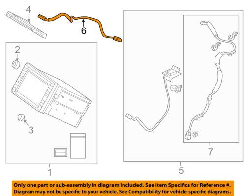 2012 civic wiring diagram honda oem 2012 civic gps navigation system wire wiring harness 2012 honda civic radio wiring diagram honda oem 2012 civic gps navigation