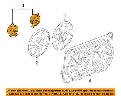 GM OEM-Radiator Cooling Fan Motor 15780796