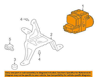 PORSCHE OEM 01-03 911 ABS Anti-lock Brakes-Modulator Valve 996355955EX