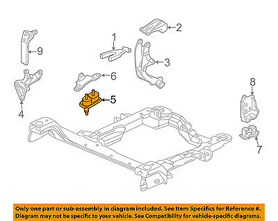 GM OEM-Engine Motor Mount/Torque Strut 10448575