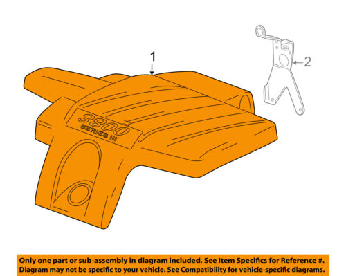 Pontiac Gm Oem 04 07 Grand Prix Engine Appearance Cover Cover 12597610 Ebay