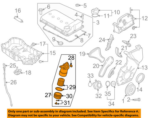 engine oil diagram audi oem 04 06 tt quattro engine oil filter housing 022115403r ebay motor oil diagram tt quattro engine oil filter housing