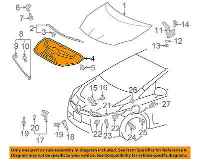 Auto Ventshade AVS 320011 Aeroskin Smoke Bug//Hood Deflector for Prius 10-11