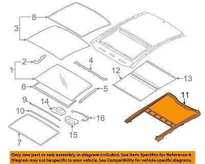 KIA OEM 13-16 Optima Sunroof-Drive Cable Assembly 816502T001