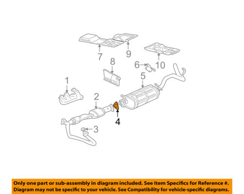 GM OEM Exhaust-Front Pipe Gasket 15047418