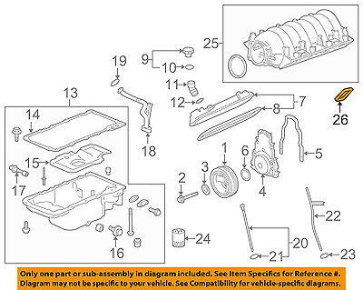 GM OEM-Engine Intake Manifold Gasket 19256623