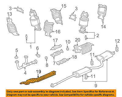 HONDA OEM Exhaust-Heat Shield 74601S3VA10