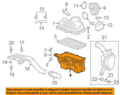 Chevrolet GM OEM 13-15 Spark Air Cleaner Box-Bottom Lower Housing Body 96910364