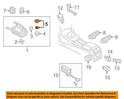 AUDI OEM 13-16 allroad Console-Repair Kit 8K0998068A
