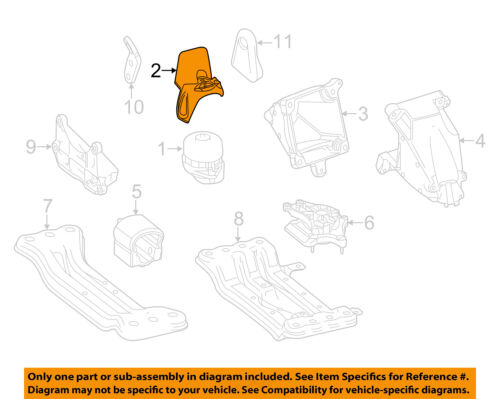 Mercedes MERCEDES-BENZ OEM E400 Engine Motor Transmission-Heat Shield 2122411734