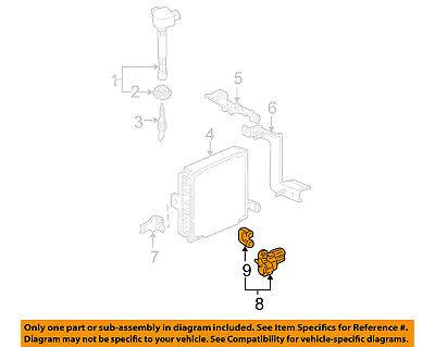 HONDA OEM 01-05 Civic-Engine Crankshaft Crank Position Sensor CPS