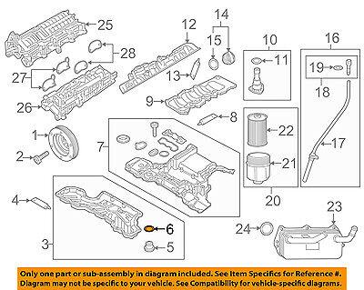 AUDI OEM 07-15 Q7 Engine Parts-Drain Plug Seal N0138157