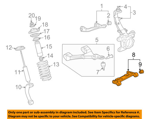 Details About GM OEM Front Suspension Mount Bracket Left 25918964