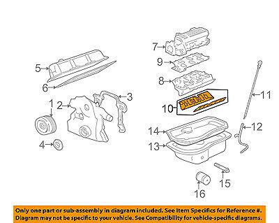 GM OEM-Engine Intake Manifold Gasket 89017819