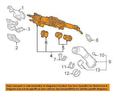 Acura HONDA OEM 91-92 NSX-Steering Column 53200SL0A06