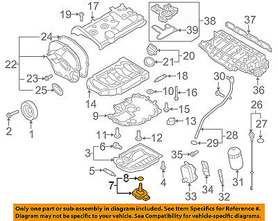 AUDI OEM 05-11 A6 Quattro-Oil Fluid Level Sensor 06E907660