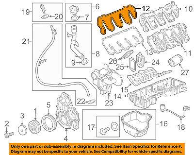 GM OEM-Valve Cover Gasket 12607401
