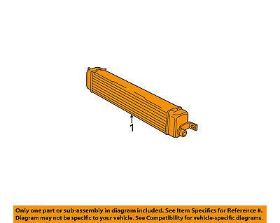 GM OEM-Power Steering Oil Fluid Cooler 15009093