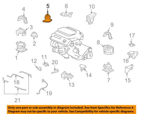 50820SEPA21 Acura OEM 04-06 TL Engine Motor Mount | eBay