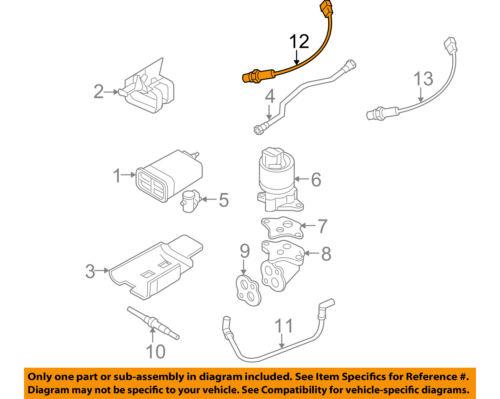 04 05 Chevrolet Chevy Aveo 1.6L 1.6 DOHC Knock Sensor 2004 2005 OEM Factory
