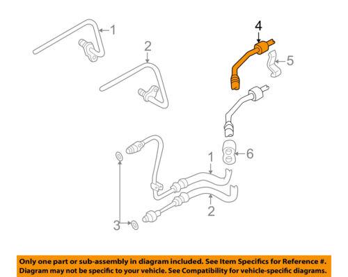 Genuine Breather Hose for Audi A8 Quattro 99 98 97 1999 1998 1997
