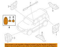 OEM 09-18 NISSAN 370Z SMART KEY PROXIMITY KEYLESS ENTRY REMOTE FOB KR55WK49622